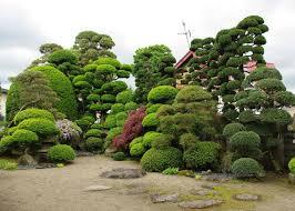 japanese garden and kura storage in hirakawa city aomori mori