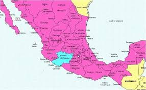 regions of mexico map where is michoacan mexico quora