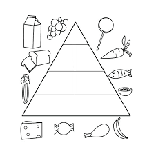 healthy food coloring pages preschool food coloring pages coloring pages of healthy foods food pyramid