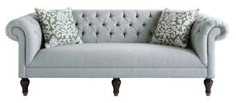 Curved Arm Sofa Tufted Rolled Arm Sofa House Furniture Ideas