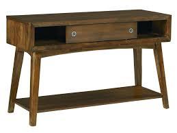 standard furniture roxbury mid century modern sliding door console