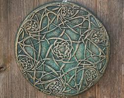 wall art celtic holiday gift celtic knot garden art gift