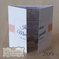 gatefold wedding invitations 140mm gatefold wedding invitation mycards auckland nz gatefold