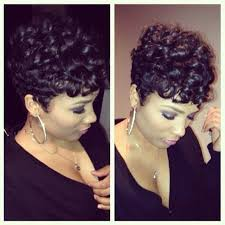 how to make african american short hair curly 33 best short hairstyles for black women images on pinterest