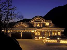 images houses decorated christmas house image
