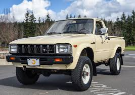 toyota trucks compact pickup comeback hagerty reports surge in vintage japanese