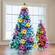how many lights for a 7ft tree the northern lights christmas trees hammacher schlemmer