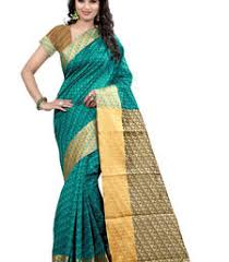Buy Green Plain Cotton Silk Page 7 Of Tie Dye Saree