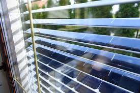 solargaps solar panel window blinds dudeiwantthat com