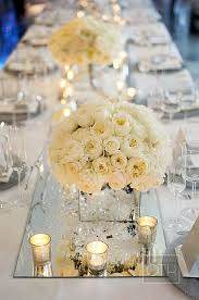 Mirror Vases Picture Of Mirror Vases And Table Runners Create A Dimension And
