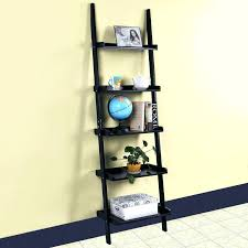 Corner Ladder Bookcase Industrial Ladder Bookshelf Corner Ladder Shelf Pyramid Shelf
