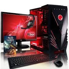 ordinateur de bureau d occasion pc de gamer vibox achat vente neuf d occasion priceminister