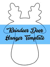 southernadoornments reindeer door hanger template