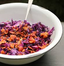 the hungry hounds u2014 sautéed red cabbage with bacon