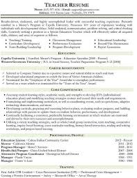 experienced elementary teacher resume best resume collection