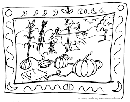 october coloring pages print festival collections pumpkin