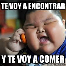 Fat Chinese Boy Meme - meme fat chinese kid te voy a encontrar y te voy a comer 2574649