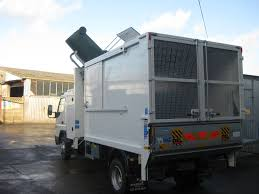 new mitsubishi canter fuso waste management u0026 caged tippers for