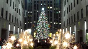 happy holidays from the rockefeller center tree lighting