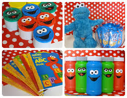 project decoration sesame street decorations