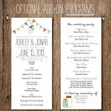 downloadable wedding programs 95 best here comes the images on wedding stuff