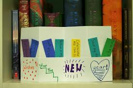 new year picture books wishes for the new year accordion books make and takes