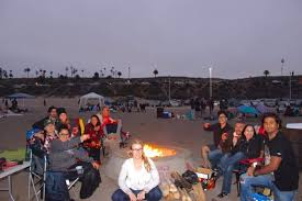 Beach Fire Pit by 8 Spots For Beach Camping In Southern California