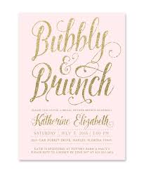 bridal shower invitations brunch pink brunch and bubbly bridal shower invitation blush pink
