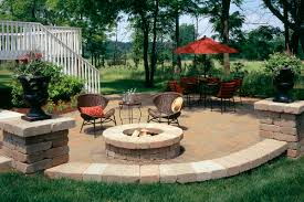 pleasant backyard patios with fire pits with additional home