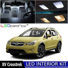 2017 subaru crosstrek xv amazon com ledpartsnow 2013 2018 subaru xv crosstrek led interior