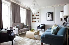 Black Leather Sofa Interior Design Silky White Window Curtain Contemporary Pyramid Shaped Shelf