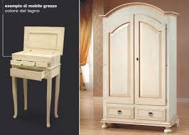 comodini grezzi da decorare gallery of vendita mobili in arte povera rifiniti o grezzi annunci