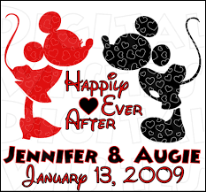 mickey u0026 minnie mouse happily ever after custom wedding