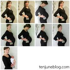 pregnant thanksgiving shirt ten june weekly baby bump photos how to document a pregnancy
