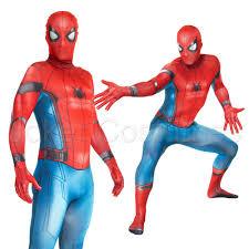 amazing spiderman homecoming costume morphsuit superhero halloween