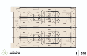 Shipping Container Floor Plans by July 2011 R One Studio Architecture