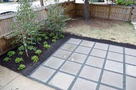 Paver Patio Diy Stunning Ideas Design For Diy Paver Patio Concrete Square Patio