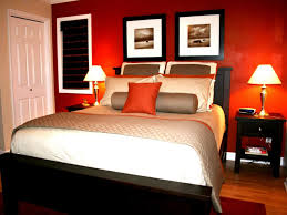 romantic bedroom wall decor walls painted of orange white walls