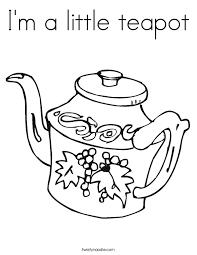 u0027m teapot coloring twisty noodle