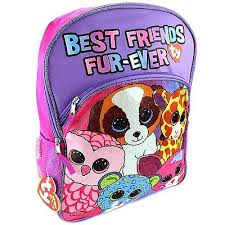 ty beanie boos 16 backpack friends pink u0027s worth