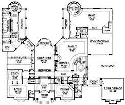 villa plan villa di este 5170 5 bedrooms and 7 5 baths the house designers