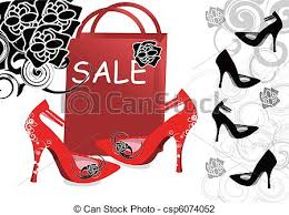 shoes on sale vector illustration of high heeled shoes sale high heeled shoes