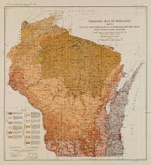 Maps Of Wisconsin by Wisconsin Geological U0026 Natural History Survey Plate 6 Geologic