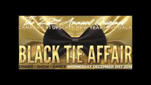 new years tie new years black tie affair 2014