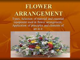 types of flower arrangements flower arrangement types selection of material and essential