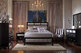 bedroom captivating 7pc district black washed queen size