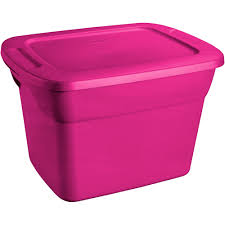 Sterilite Showoffs Storage Container - rubbermaid 7 5 gallon 30 quart clever store container clear