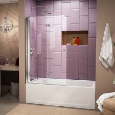Sliding Glass Shower Doors Over Tub by Bathtub Sliding Doors Amazon Com