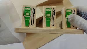 toy garage wooden asmr unboxing youtube