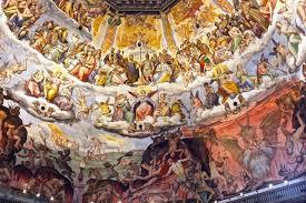 cupola s fiore affreschi cupola santa fiore firenze toscanalibri il